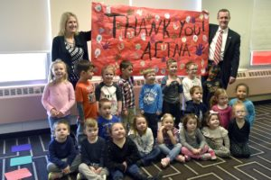 SPIN Preschoolers Celebrate Aetna's $20,000 Voices of Health Donation